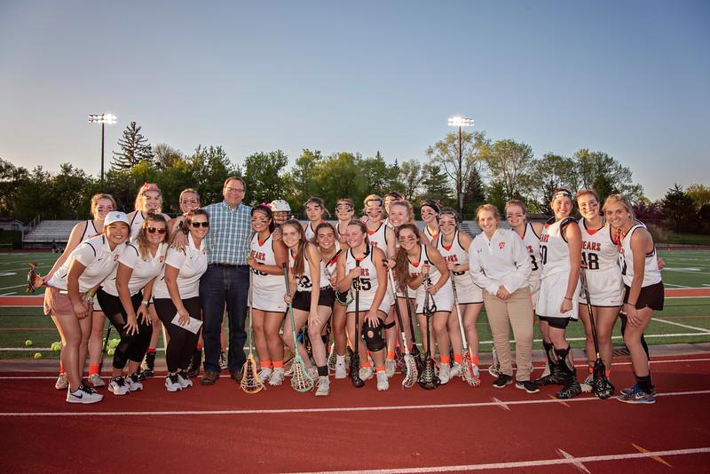 Varsity Girls Lacrosse -V- Park 2018