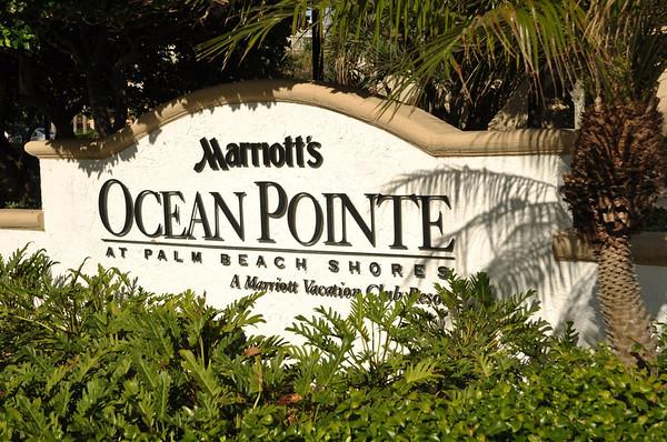 Marriott's Ocean Pointe Pompano building December 2013