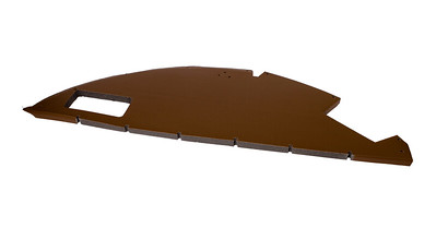 JOHN DEERE SG2 CAB FRONT SECTION ROOF PADDING TRIM