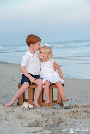 Sunset Family Portraits,  Family Photos, Family Portraits, Frisco, North Carolina, Epic Shutter Photography, Outer Banks Photographer, Hatteras Island Photographer, OBX Family Vacation