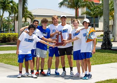 4.16.21. CSN Boys Varsity Tennis - District Finals