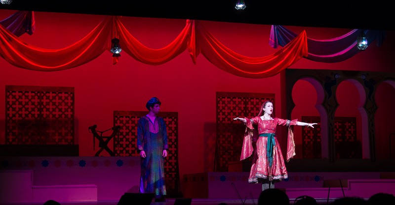 "Lalume and Hajj (""Bored"") -- Kismet, Montgomery Blair High School spring musical, April 15, 2016 performance (Silver Spring, MD)"