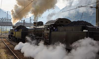 2017-10 Steam Train Gotthard