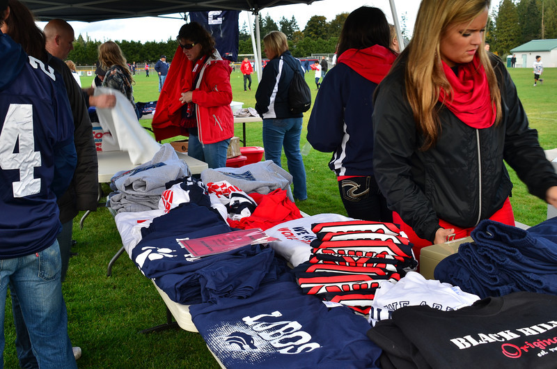 School spirt shirts for sale during Spirit Fire