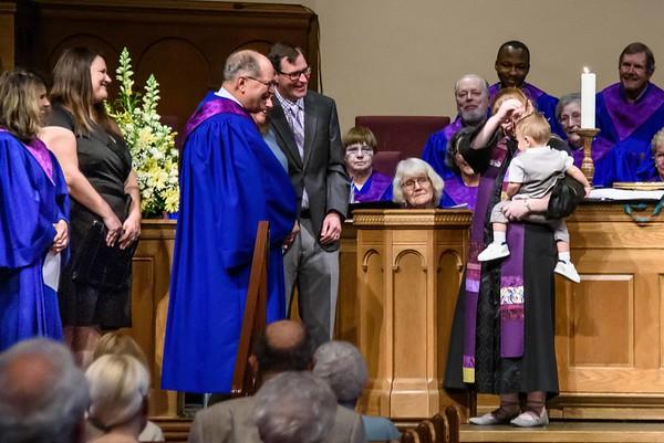 Oliver's Baptism 3-24-2019