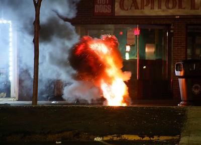 Manhole Fire - 510 Main St. New Britain, CT. - 1/14/21