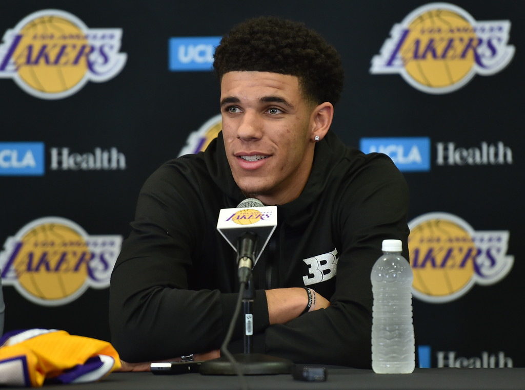 . <b>40. Lonzo Ball, 19, Lakers Point Guard </b> <br>To put the expectations of Ball in perspective, at his introductory press conference with the Lakers ... (Photo By  Robert Casillas, Daily Breeze/SCNG)