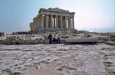 September 1981 - Athen Gastspiel