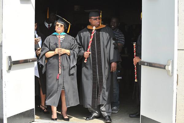 Shaw Graduation Events 2014