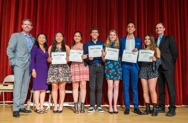 Beverly Vista School 2019 - Alumni Scholarship Recipients