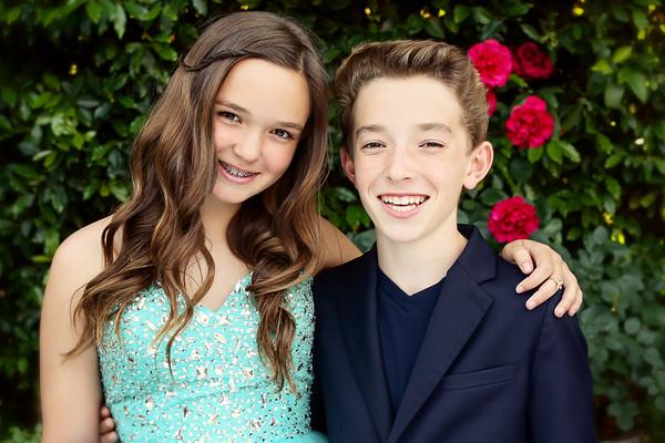Cooper & Lilah 6/11/16
