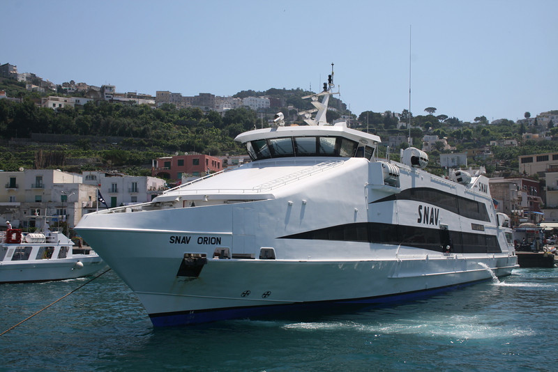 2008 - HSC SNAV ORION in Capri.