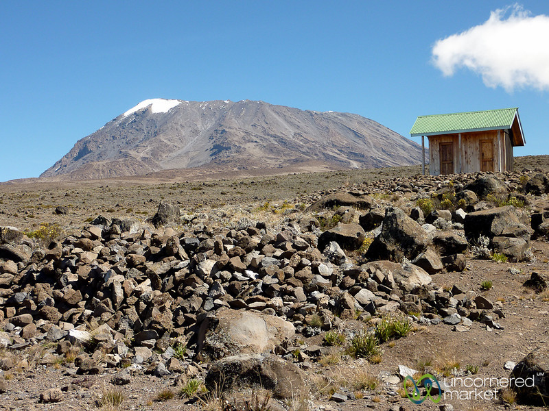 Outhouse with a View - Mt. Kilimanjaro, Tanzania