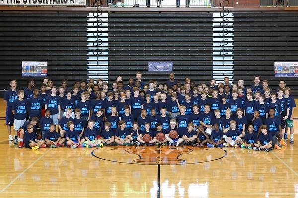 2013 Invite Camp Team and Warmups