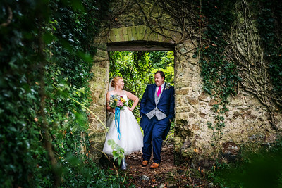 Hazel and David Stouthall Manor, Gower Wedding