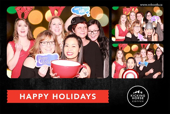 Kicking Horse Coffee Holiday Party 2016
