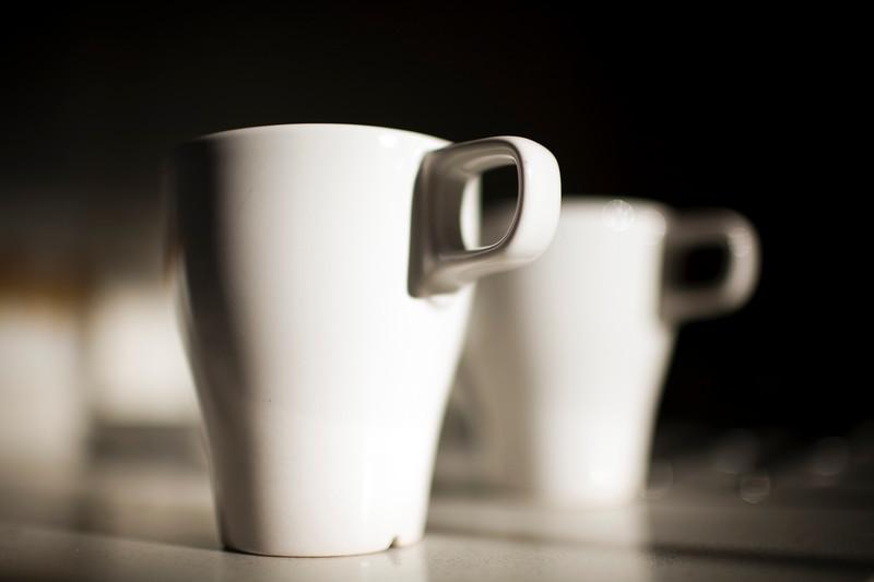 Couple of coffe mugs, Seville, Spain