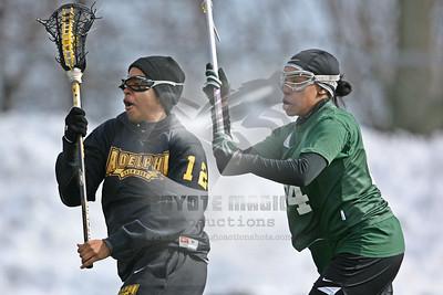 2/14/2010 - Women's DII (scrimmage) - Adelphi University vs. Wagner College - Staten Island, NY