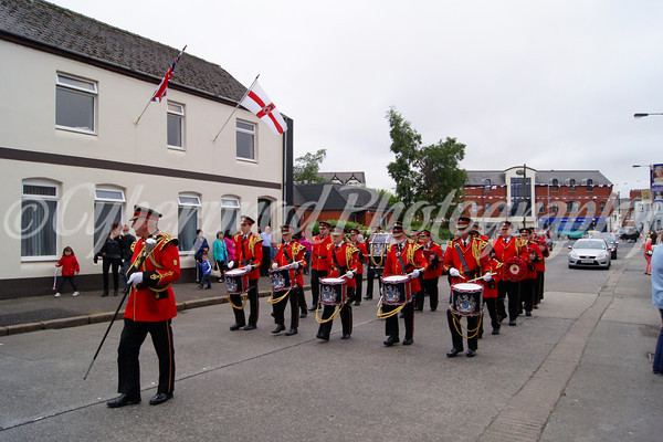No' 6 District East Belfast Somme Anniversary Parade