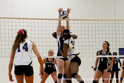 GV Volleyball vs. Nobles