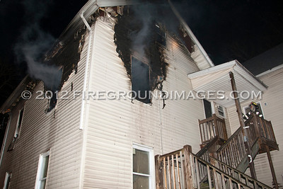 Johnson St. Fire (Bridgeport, CT) 1/18/12