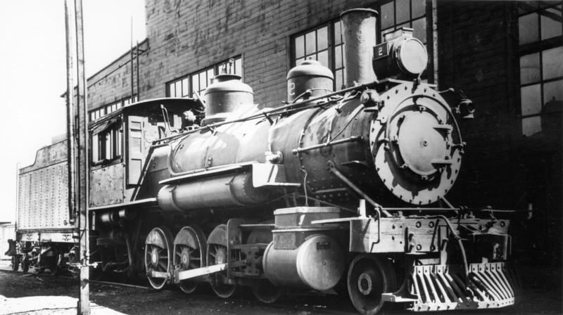 Deep Creek Railroad, Wendover, 1939.