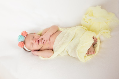 Ruby's Newborn Shoot