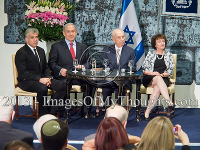 20131113 President Presents Appointment to New Governor of the Bank of Israel