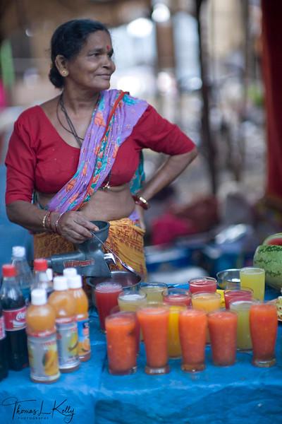 Anjuna Flea Market, Goa, India.