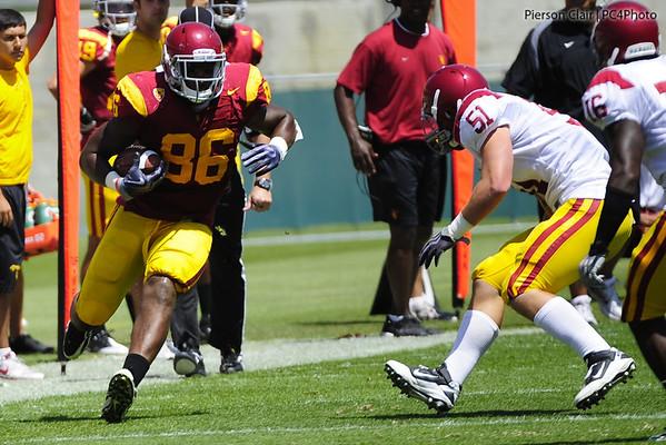 USC Football - Fall Practice 2011 - 8/21/11