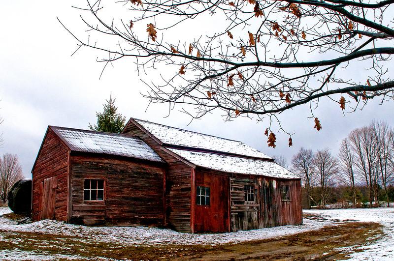 Old Barn, N. Bennington  #897