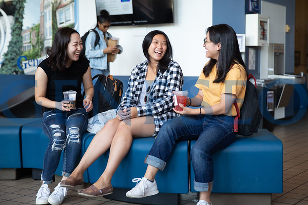 Students around College Union