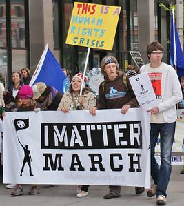 """""""I Matter March"""" - Denver 5/14/11"""