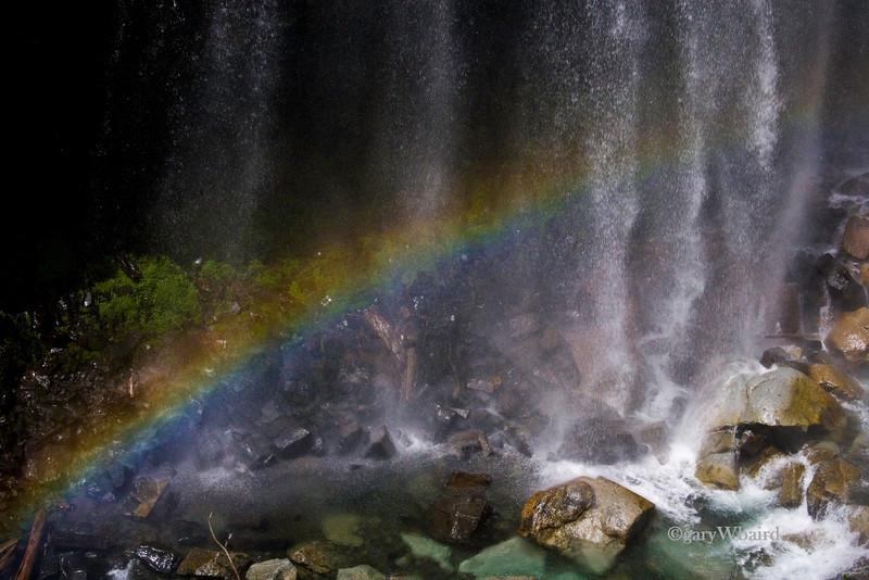 Rainbow in Falls
