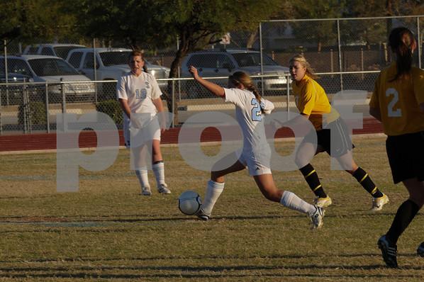 2009 Cactus Girls Soccer