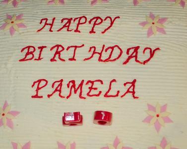 Pamela Brown 50th