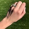 2.10ct Art Deco Peruzzi Cut Diamond Ring, GIA W-X SI2 24
