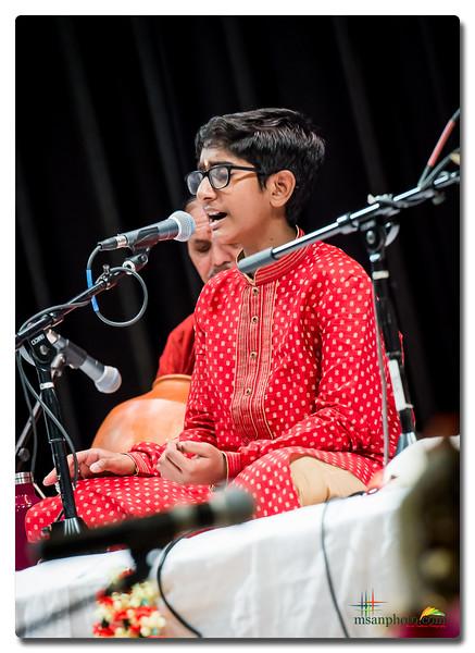 Sanjay's Carnatic Vocal Arangetram 2019