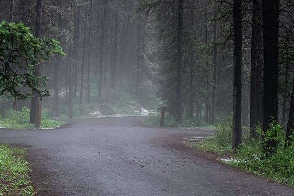 6-15-21 Foggy Evening with Hail KC