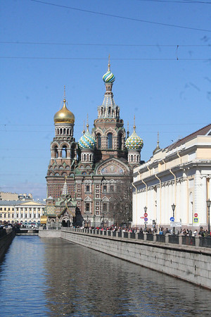 St Petersburg Church of the Spilt Blood May 2013