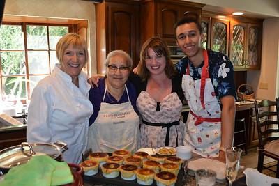 Cooking Demonstration Benefits Pasadena-Based Stars