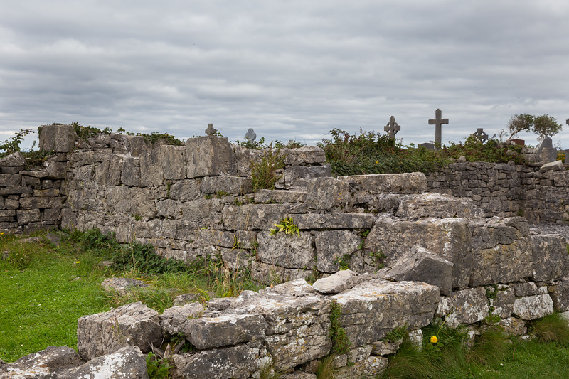 Seven Churches and Burial Ground. Monastic settlement dating back to 7th or 8th century