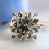 1.58ct Old European Cut Diamond Solitaire, EGL K VS2 9