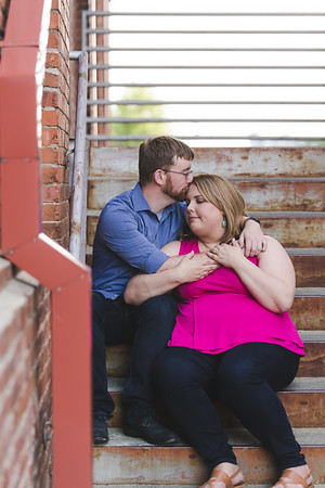 Lauren & Marc | A Sweet & Bright American Tobacco Campus Engagement