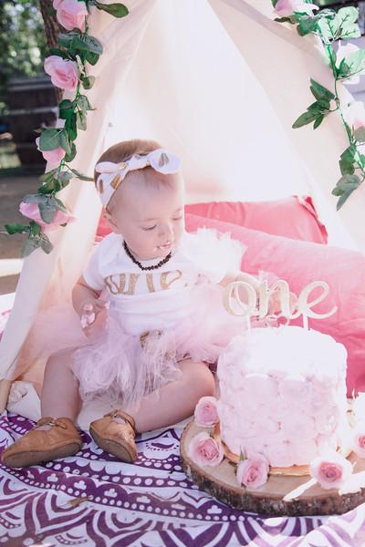 Yasmine Elhami - 1st Birthday Party