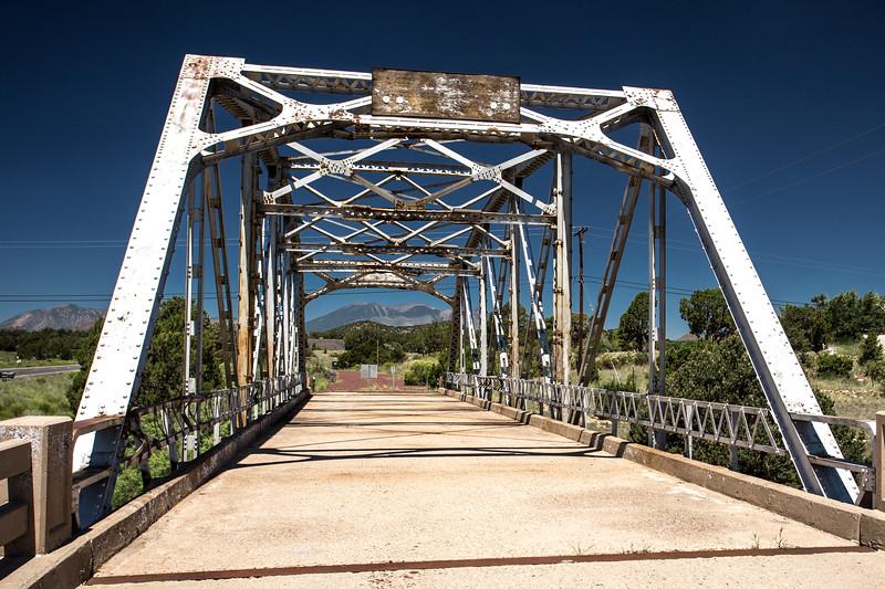 Old Bridge on Route 66, Flagstaff Arizona