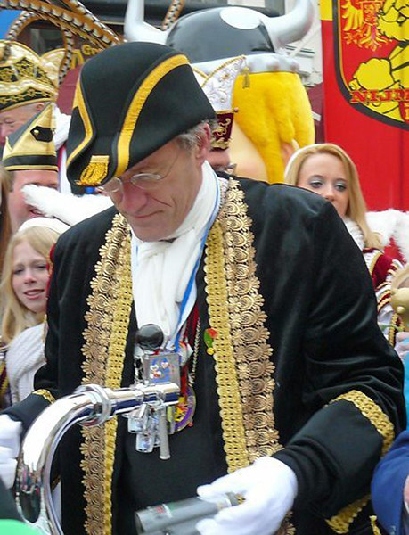 Blauwe Steen met burgemeester Thom de Graaf