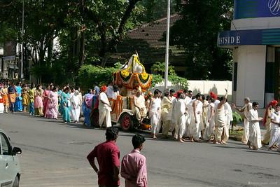 Paryusan procession
