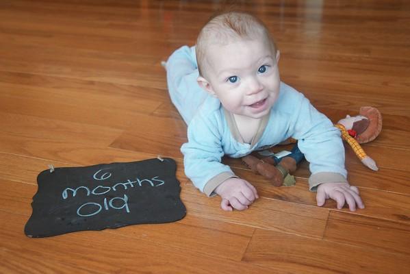 Braden Aaron - 6 months old