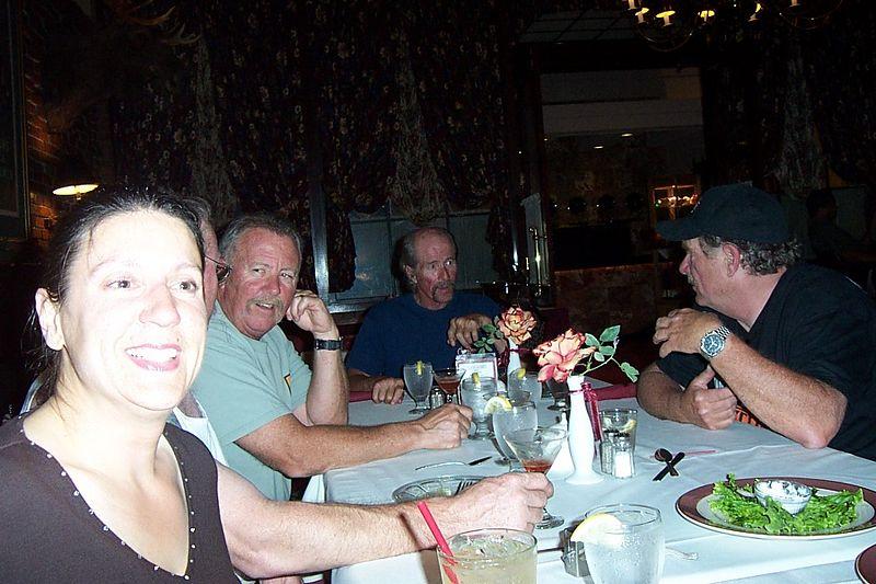 Sandy,Pat, Steve,Uncle Greg & Howard